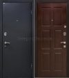Двери МеталЮр. МеталЮр М21, панель венге